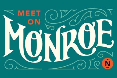 Meet on Monroe Logo